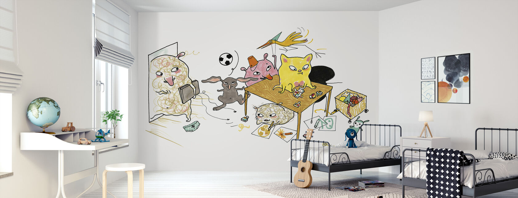 Who plays indoors - Wallpaper - Kids Room
