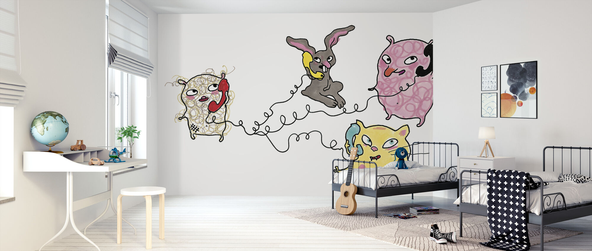 Who calls who - Wallpaper - Kids Room