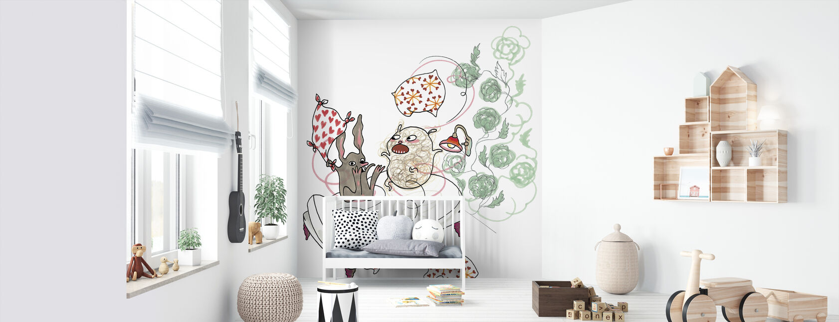 who does not sleep - Wallpaper - Nursery