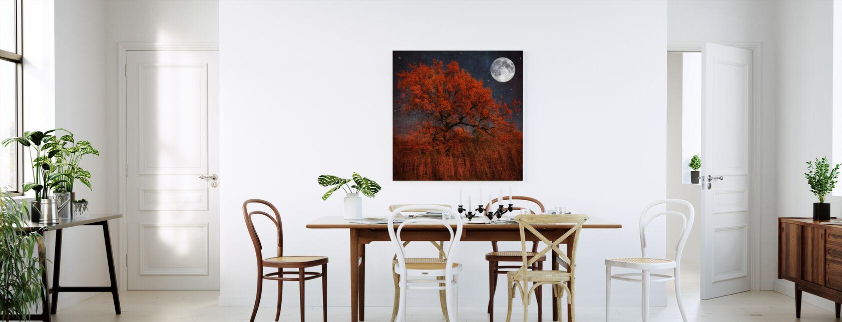 Halloween Tree - Canvas print - Kitchen