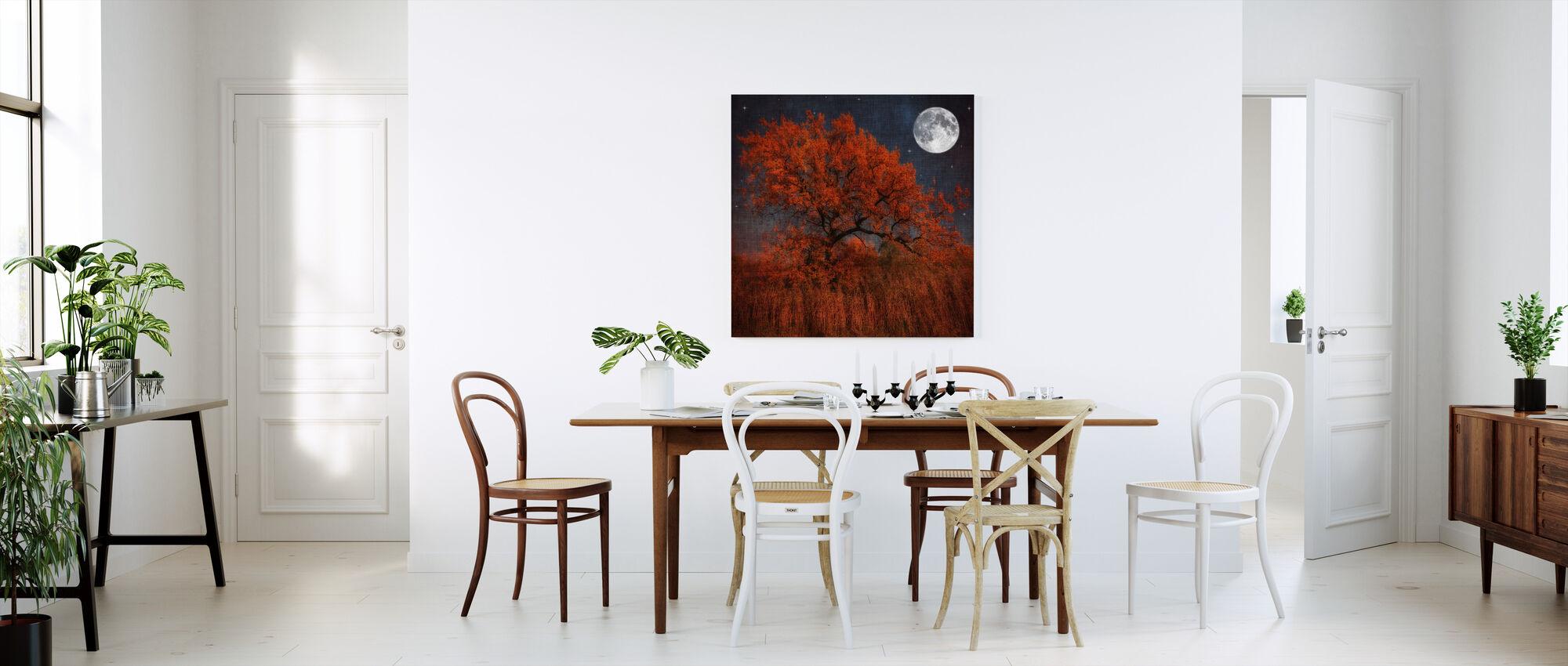 Halloween Puu - Canvastaulu - Keittiö