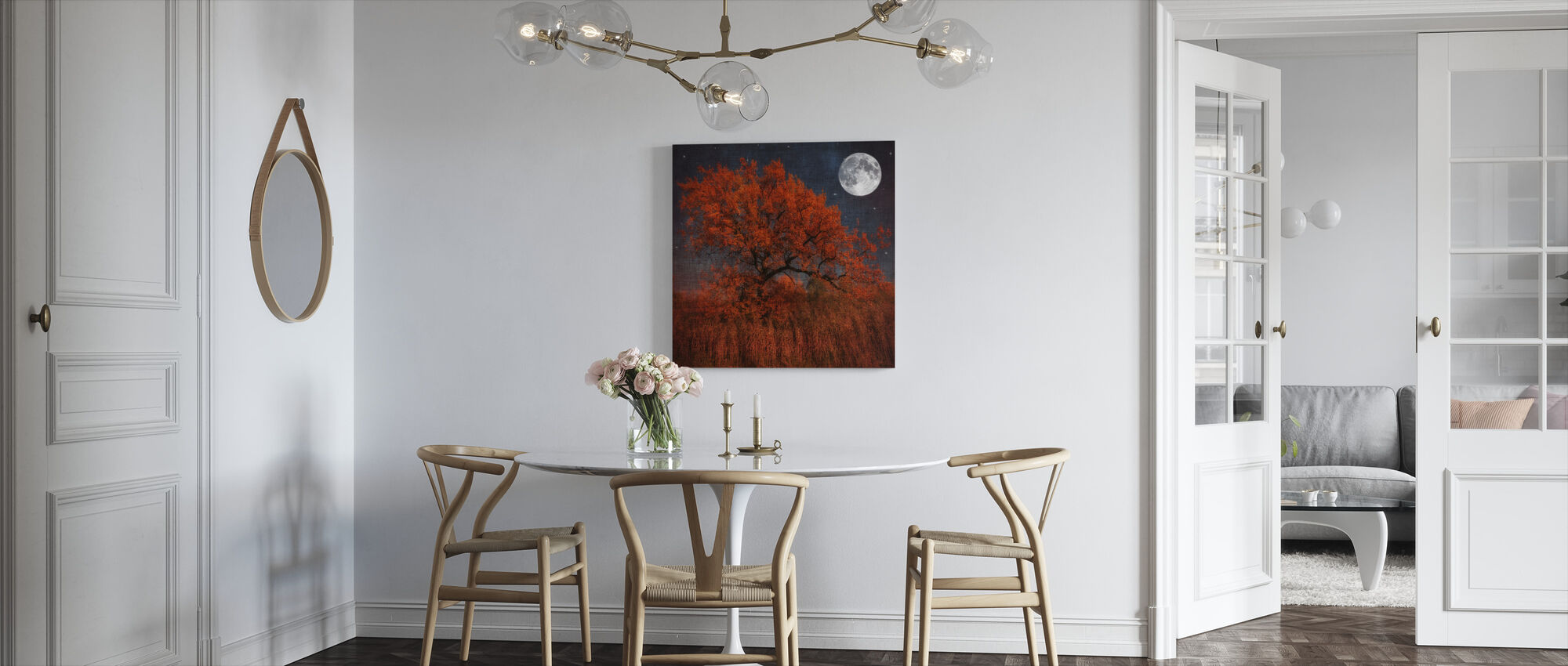 Halloween Tree - Canvas print - Kitchen
