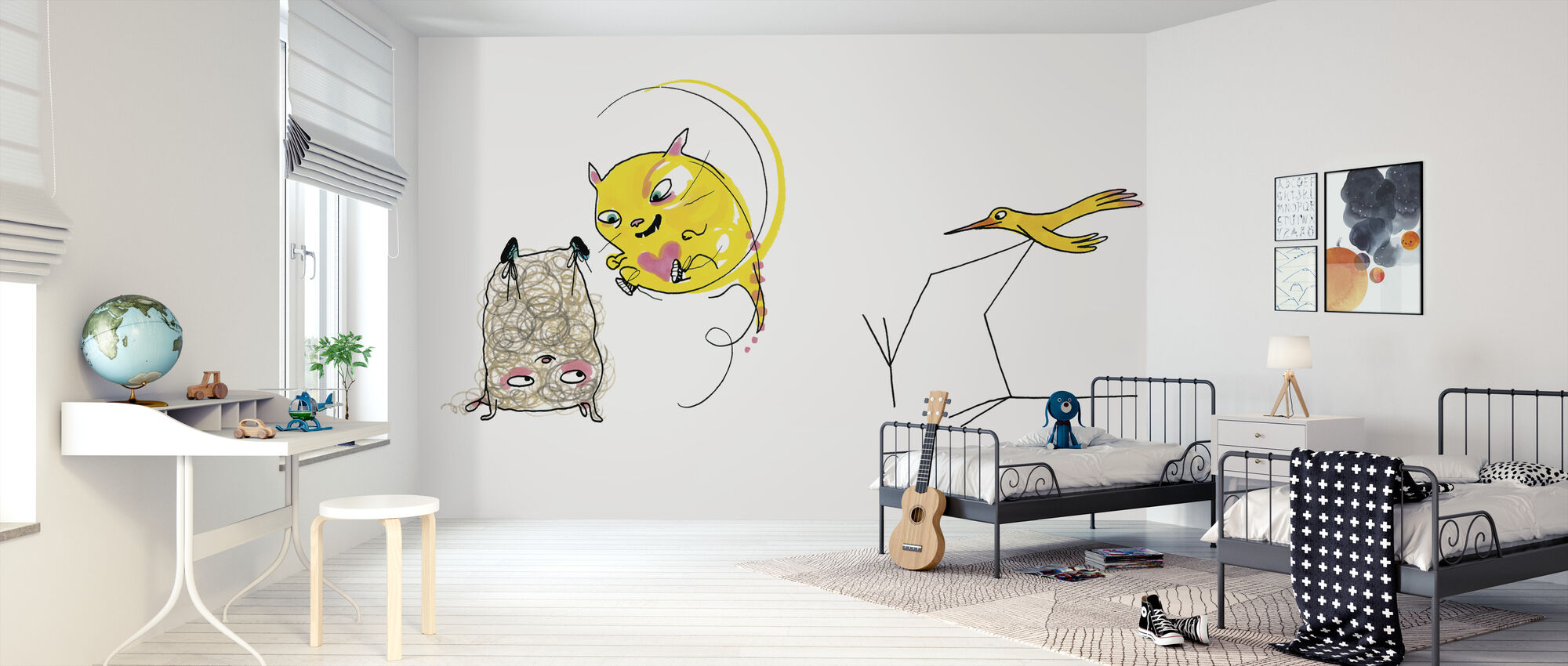 Who is the best - Wallpaper - Kids Room