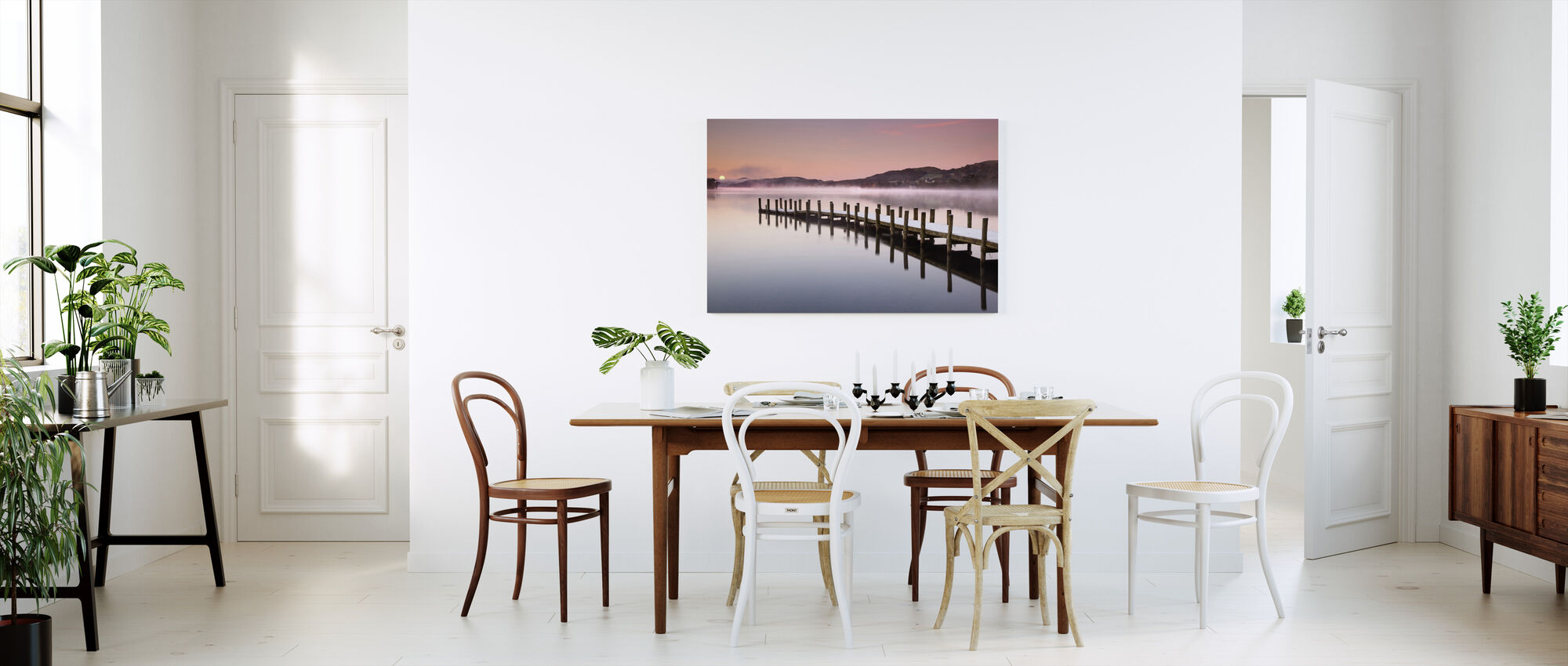 Landing Jetty on Coniston Water - Canvas print - Kitchen