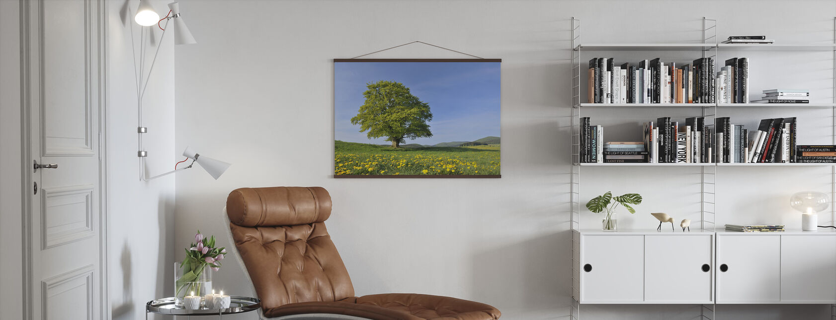 Lone Beech Tree - Poster - Living Room