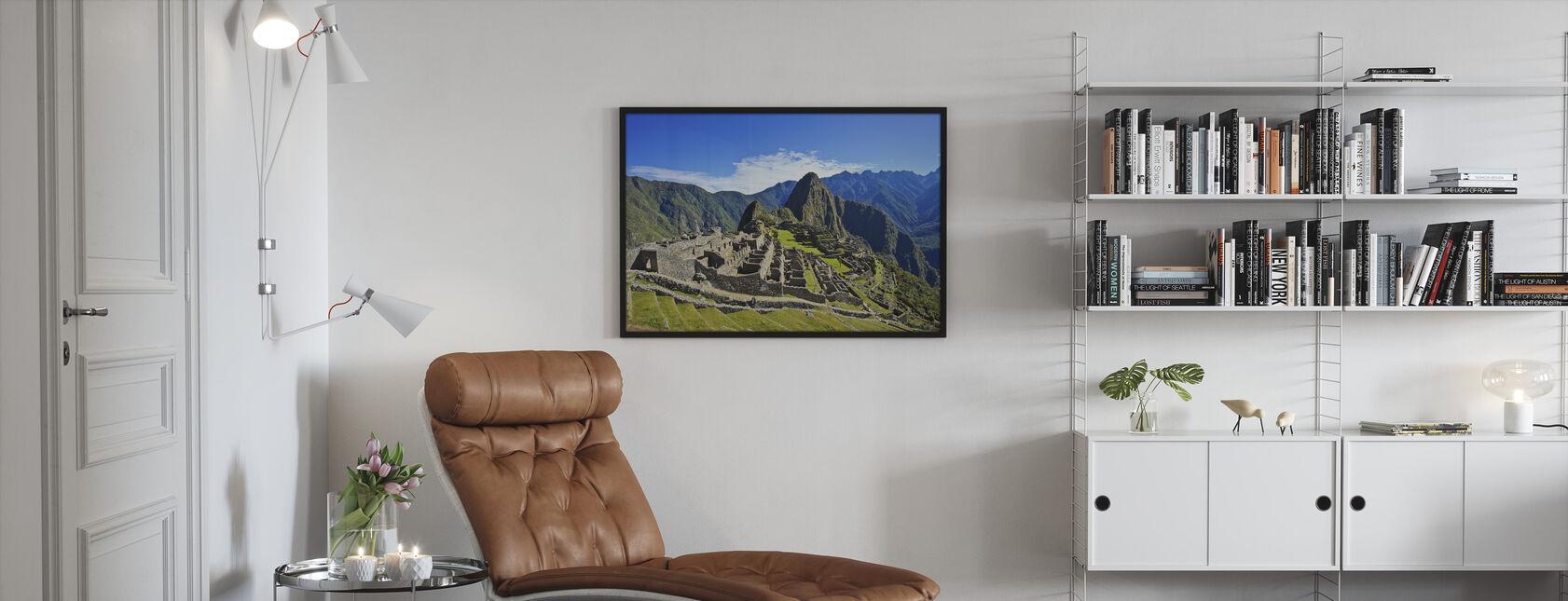 Machu Picchu - Framed print - Living Room