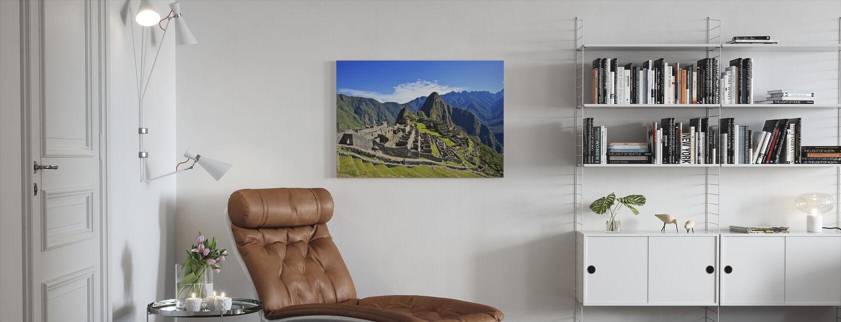 Machu Picchu - Canvas print - Living Room