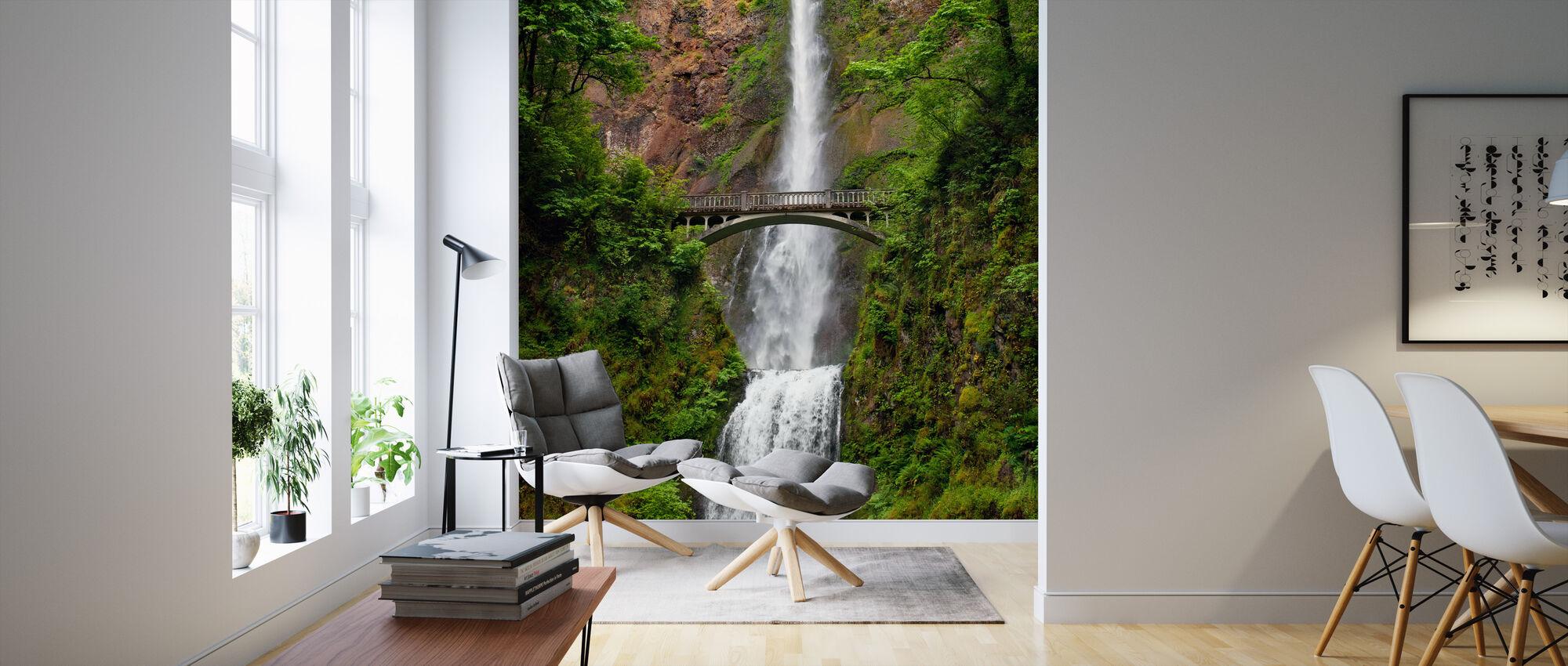 Multnomah Falls - Behang - Woonkamer