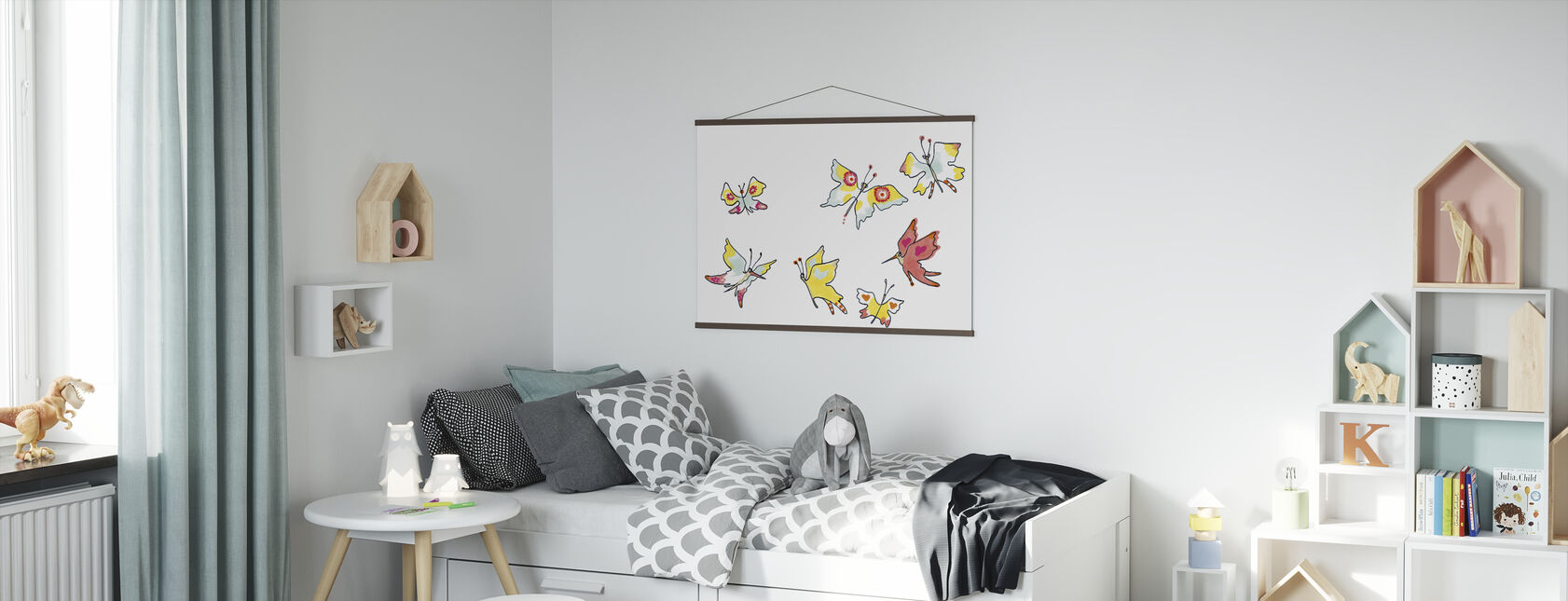 Whose Butterfly 3 - Poster - Kids Room