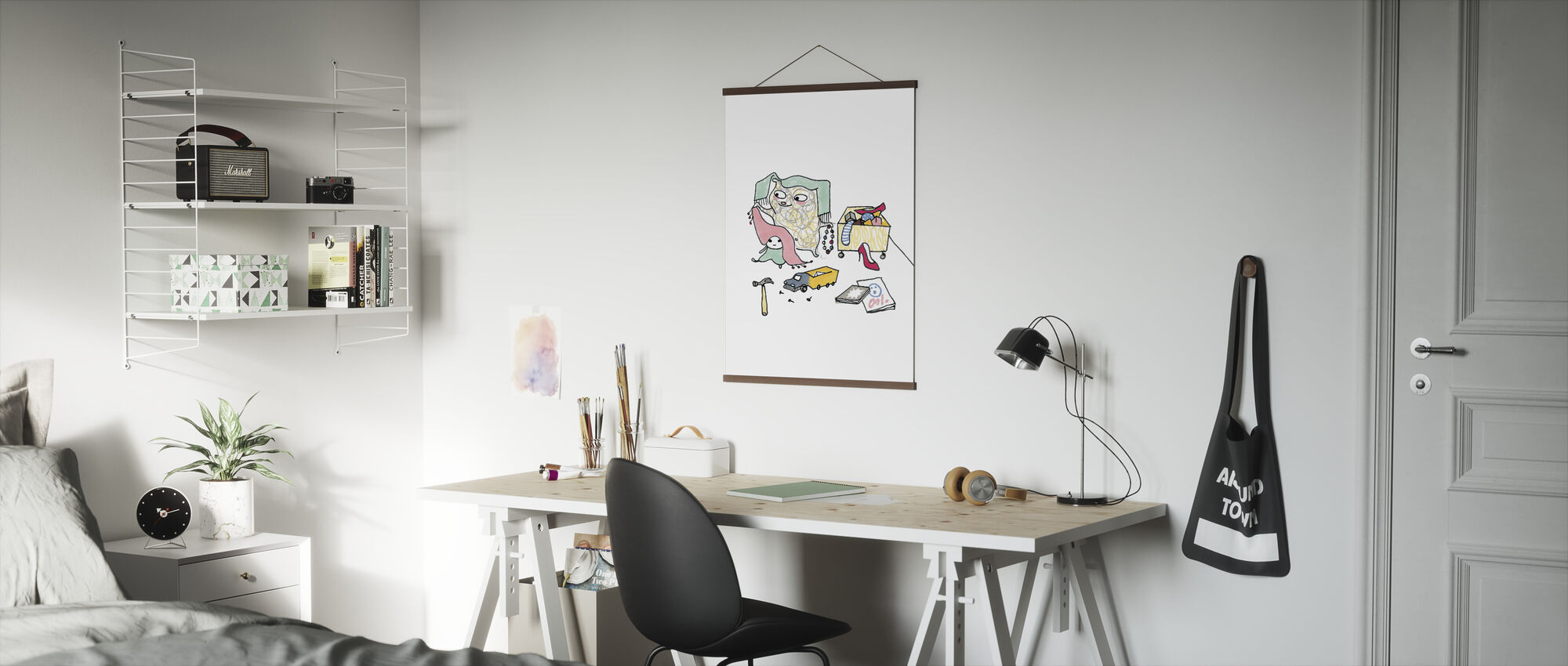 Whose toys - Poster - Office