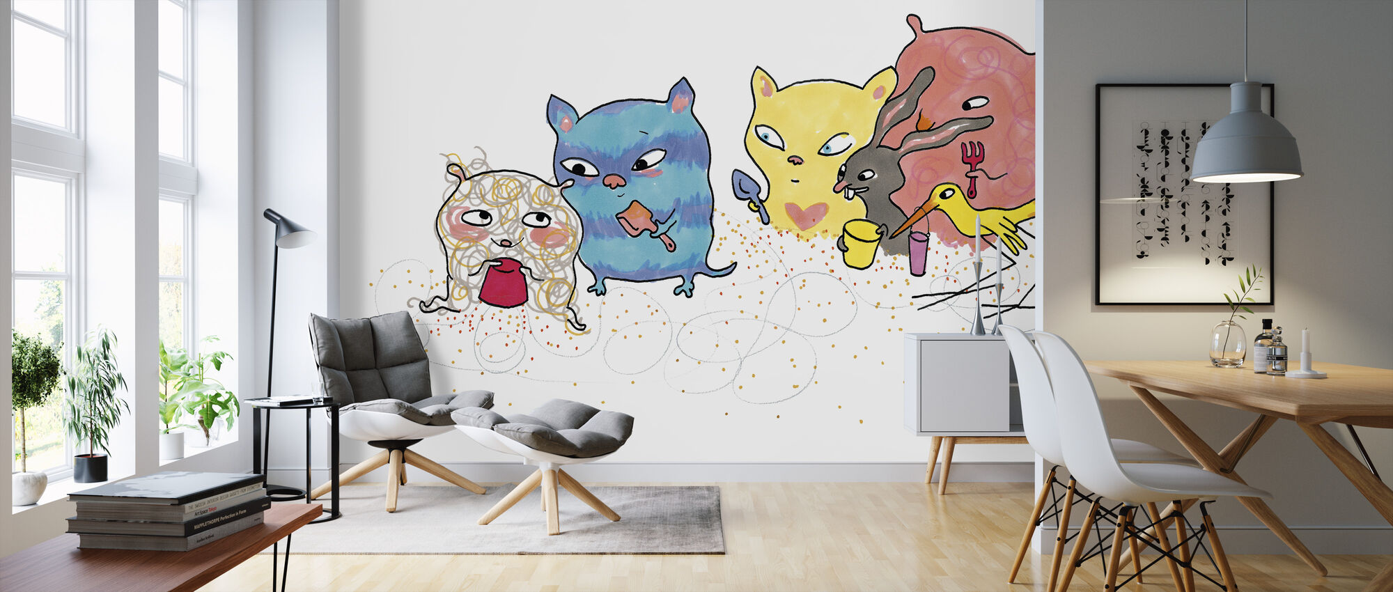 Whose sand castle - Wallpaper - Living Room