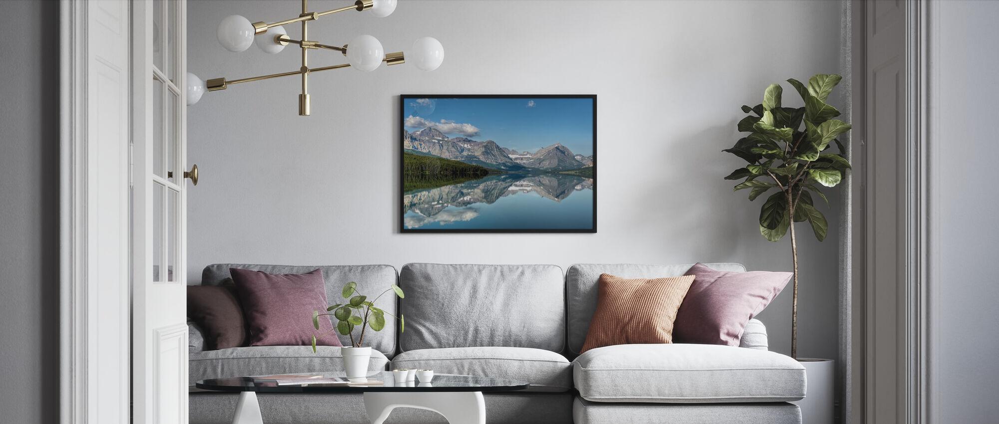 Reflection - Framed print - Living Room