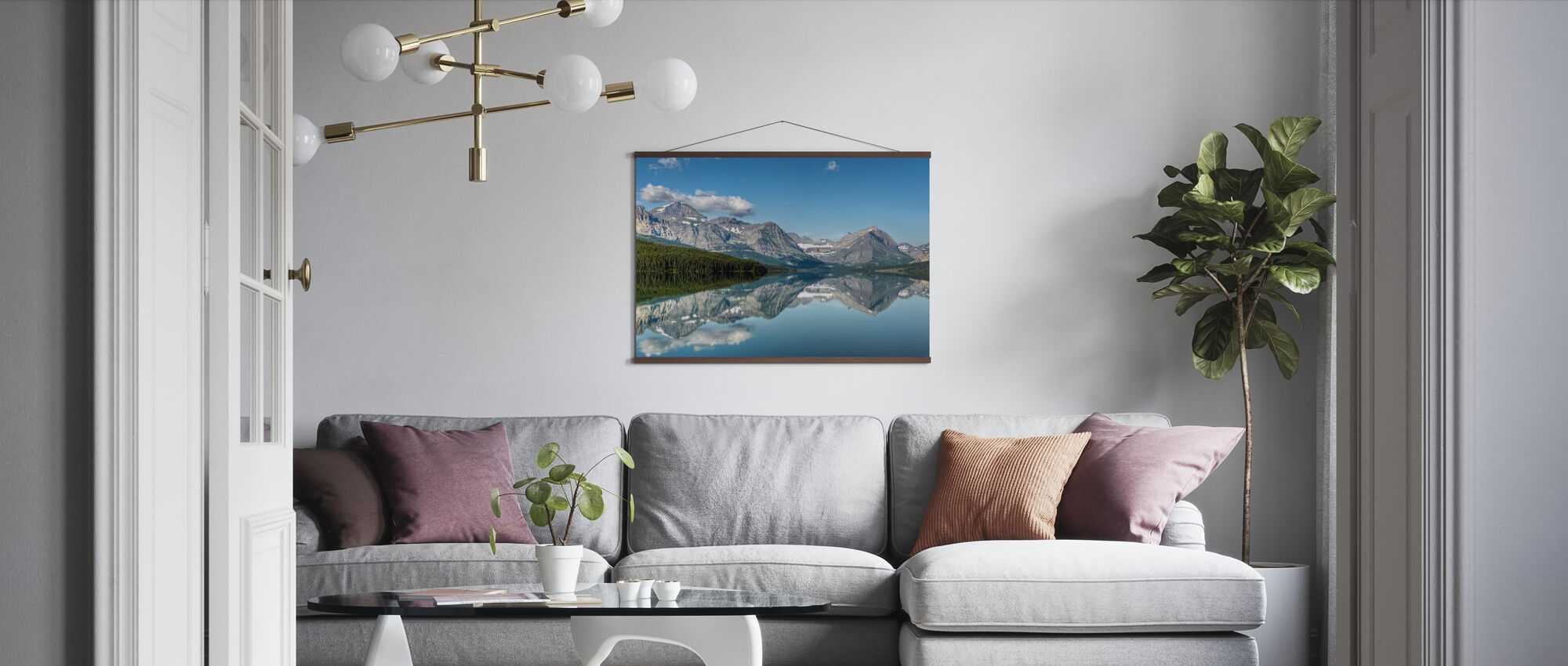 Reflection - Poster - Living Room
