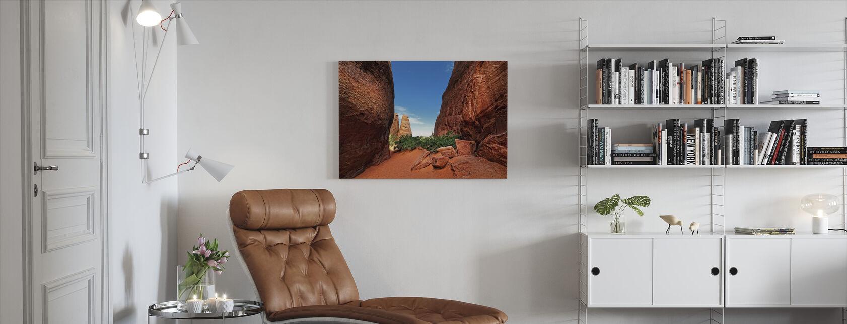 Canyon-valo - Canvastaulu - Olohuone