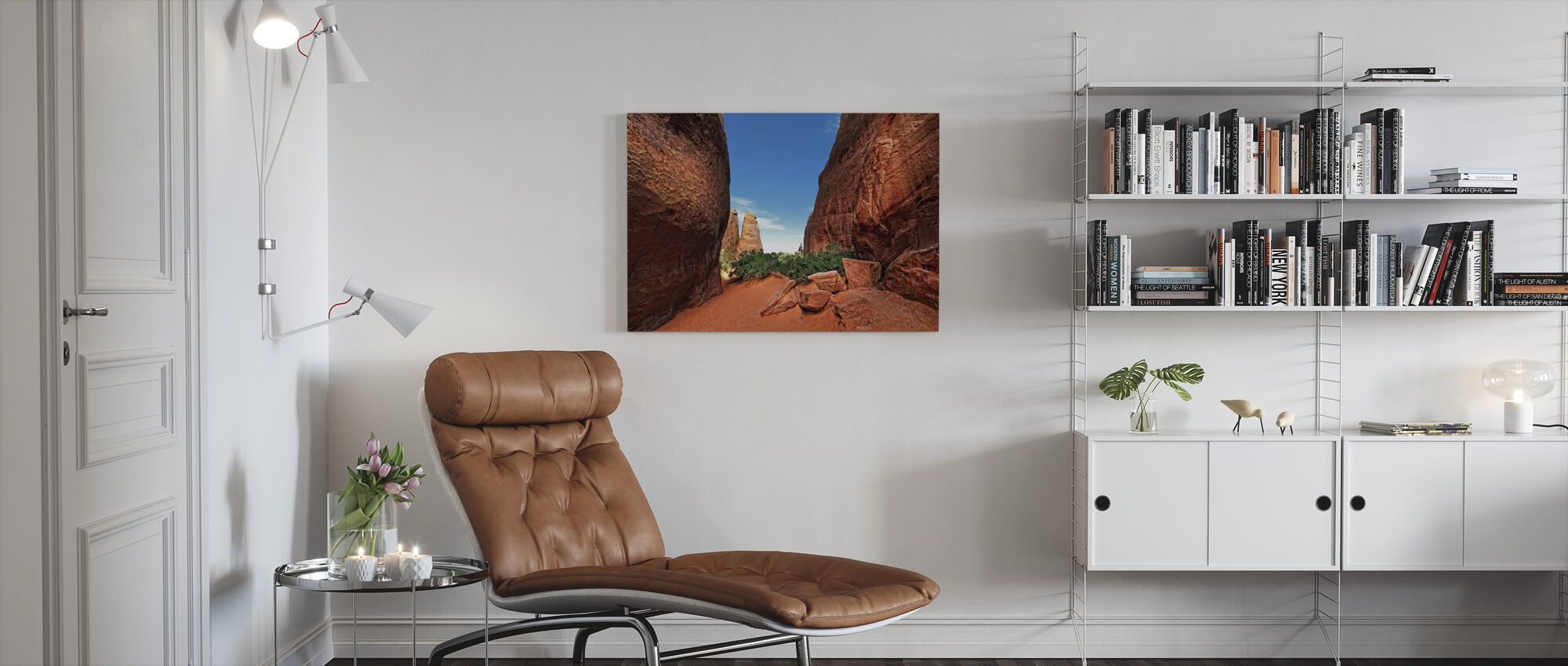 Canyon Light - Canvas print - Living Room