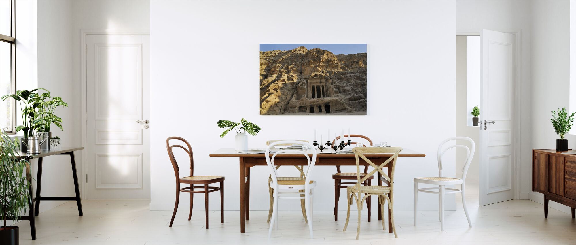 View of Petra - Canvas print - Kitchen