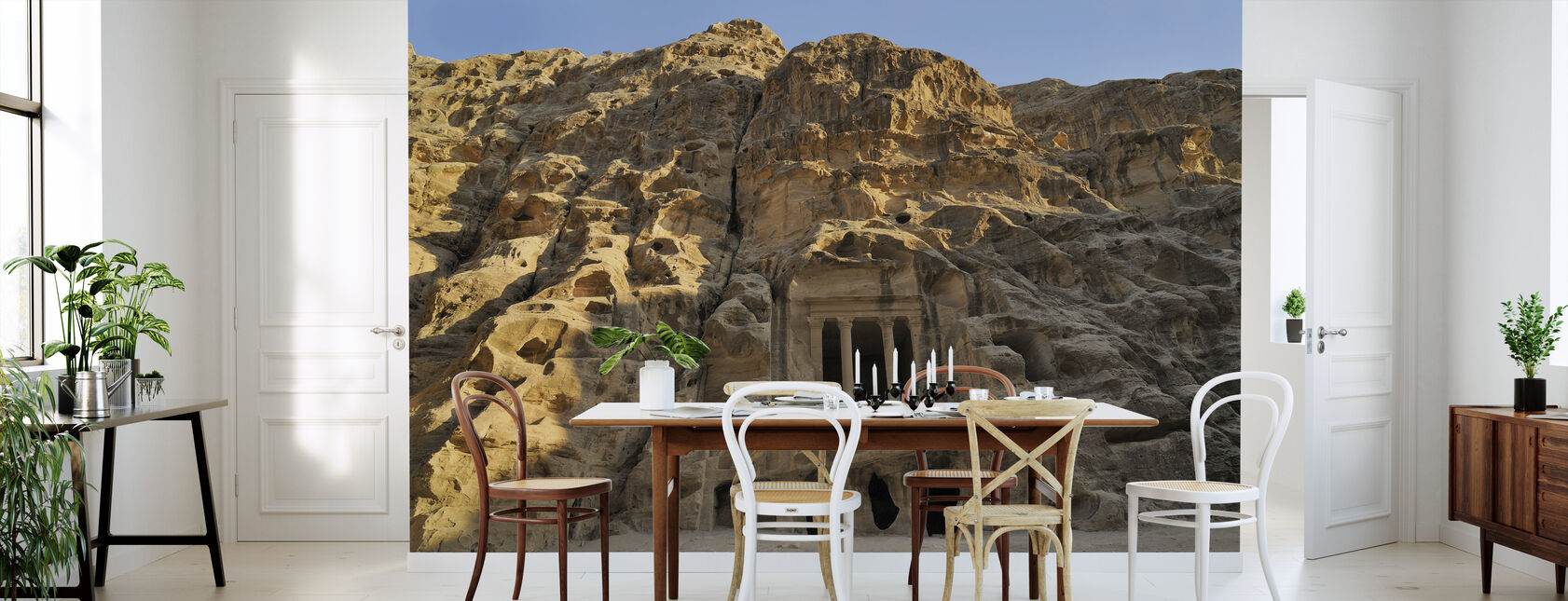 View of Petra - Wallpaper - Kitchen
