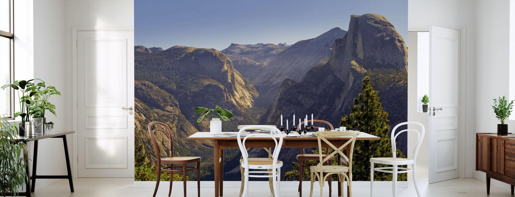 Utsikt over Tenaya Canyon - Tapet - Kjøkken
