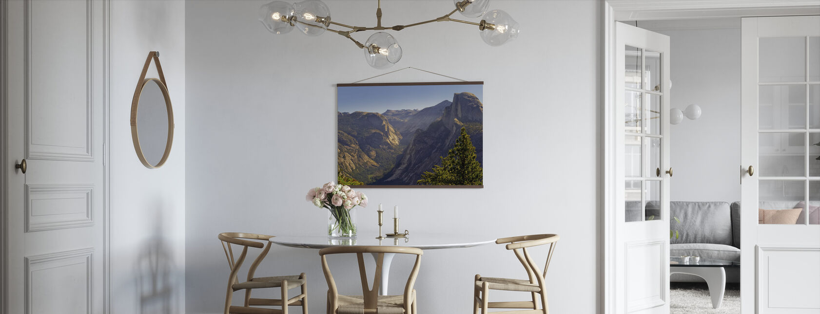 View of Tenaya Canyon - Poster - Kitchen