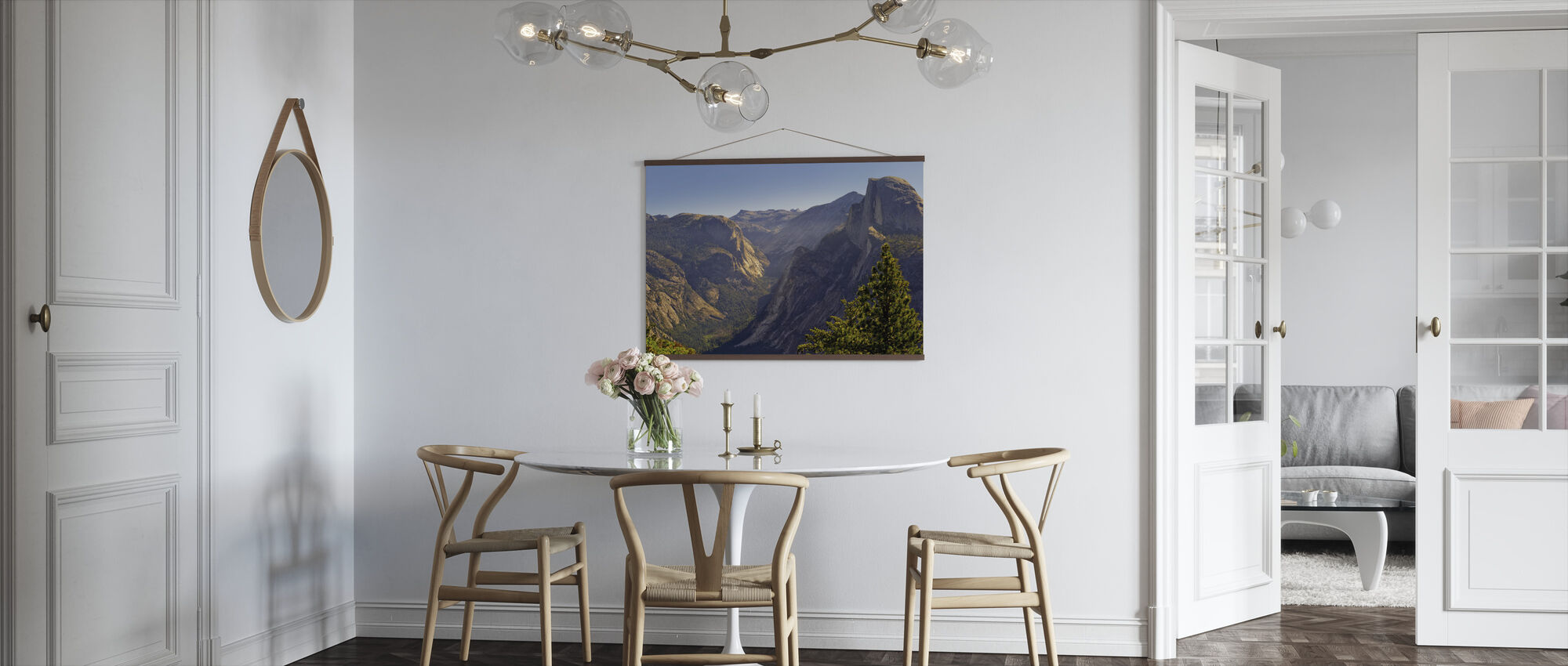 View of Tenaya Canyon - Poster - Kitchen