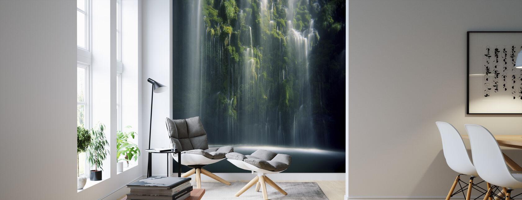 Mossbrae Falls in Sunlight - Wallpaper - Living Room