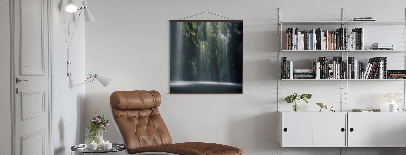 Moosbrae fällt im Sonnenlicht - Poster - Wohnzimmer