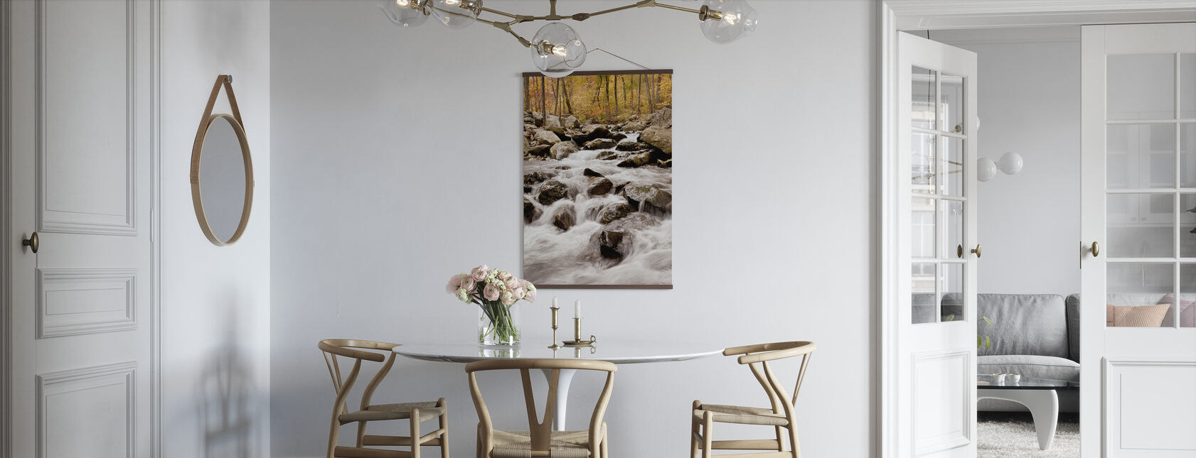 White Oak Canyon Falls - Poster - Kitchen