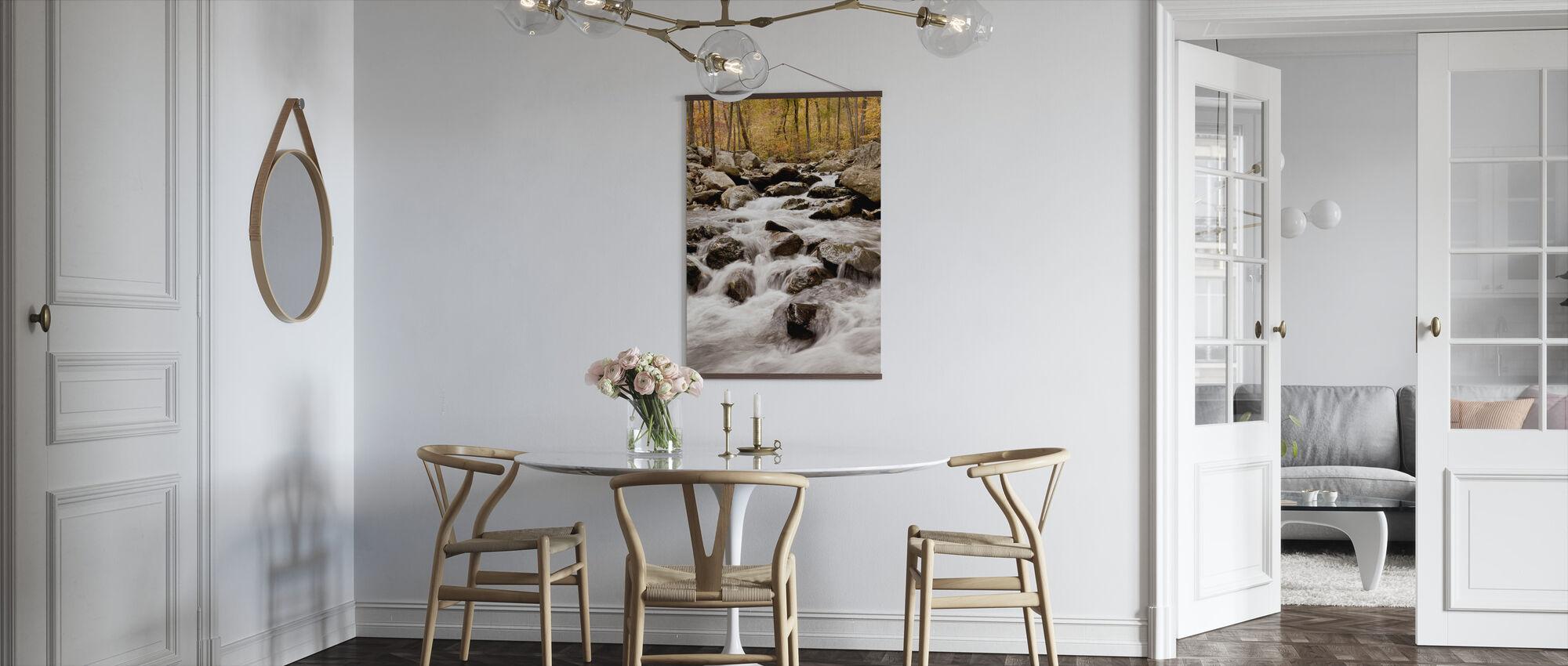 White Oak Canyon Falls - Poster - Kitchen