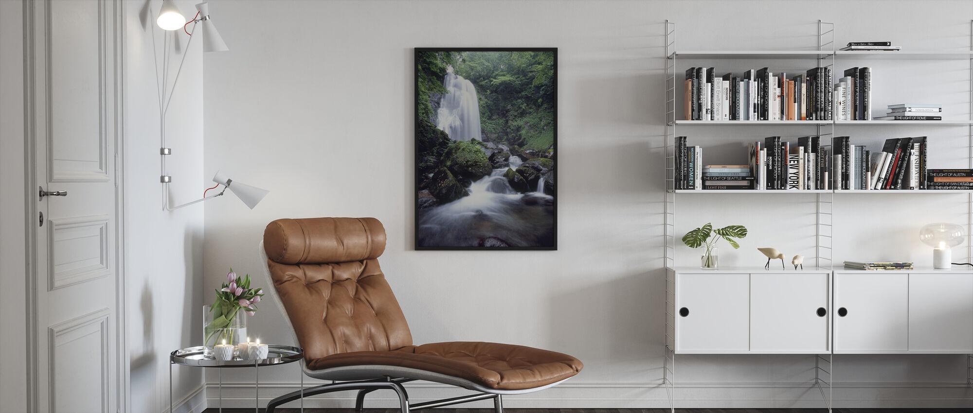 Beauty of Japan - Framed print - Living Room