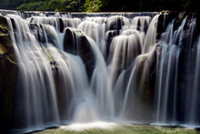 Fototapet - Rippling Waterfalls