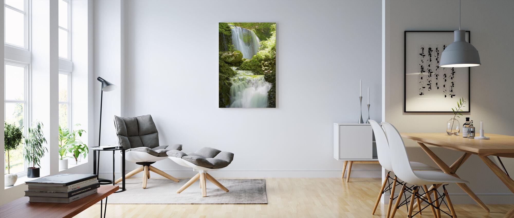 Koromonotaki Falls - Canvastavla - Vardagsrum