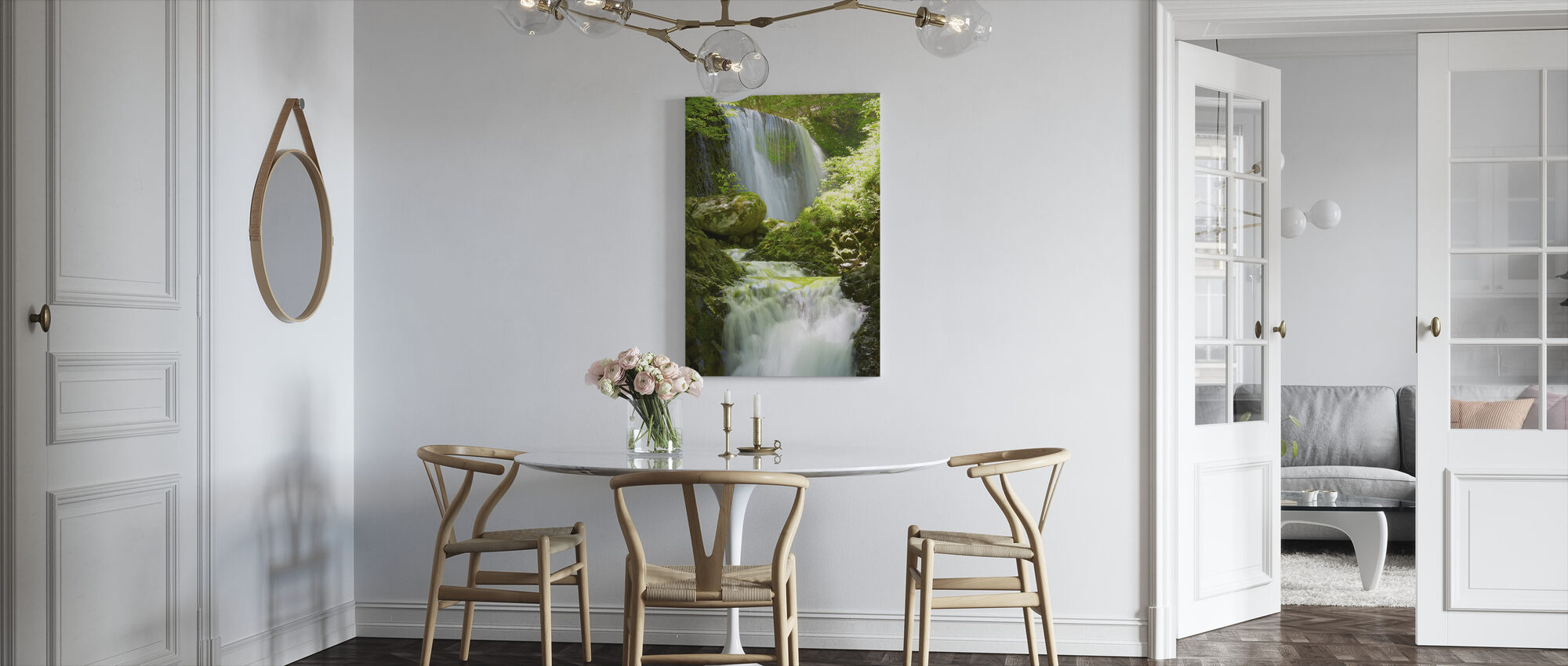 Koromonotaki Falls - Canvas print - Kitchen