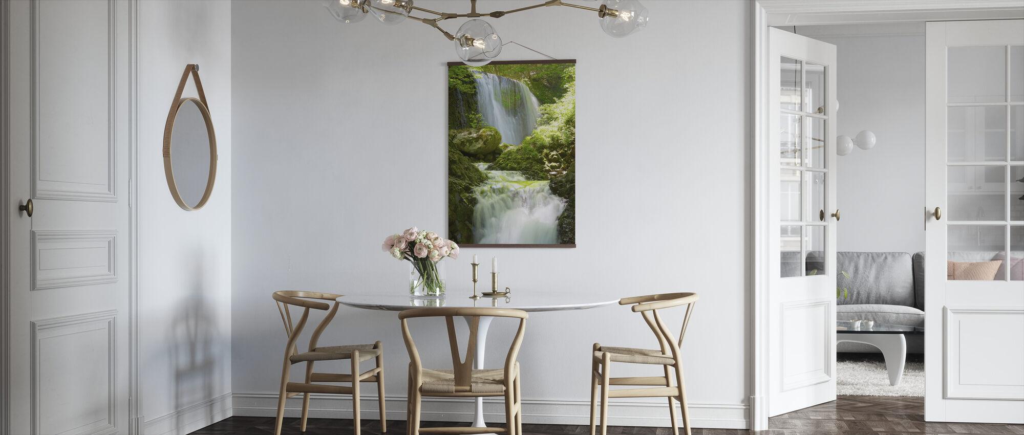 Koromonotaki Falls - Poster - Kök