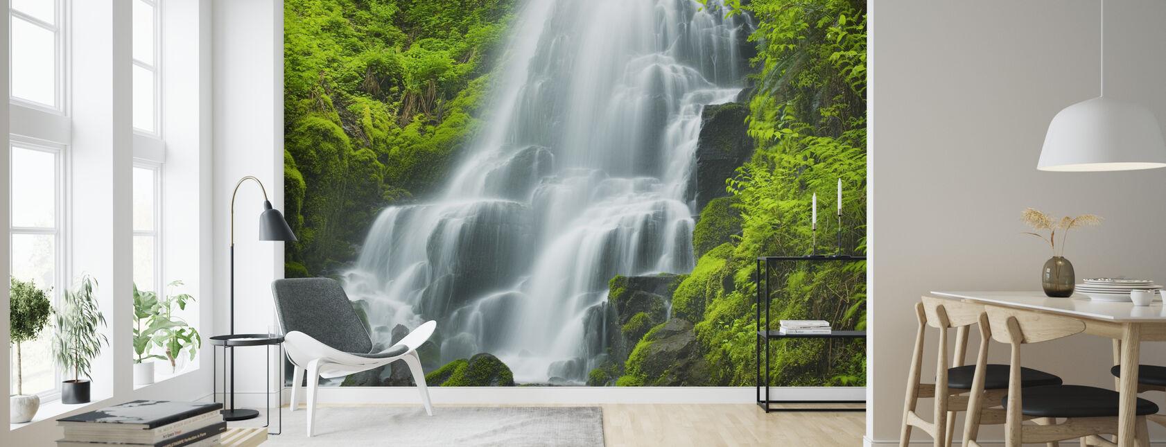 Fairy Falls - Wallpaper - Living Room