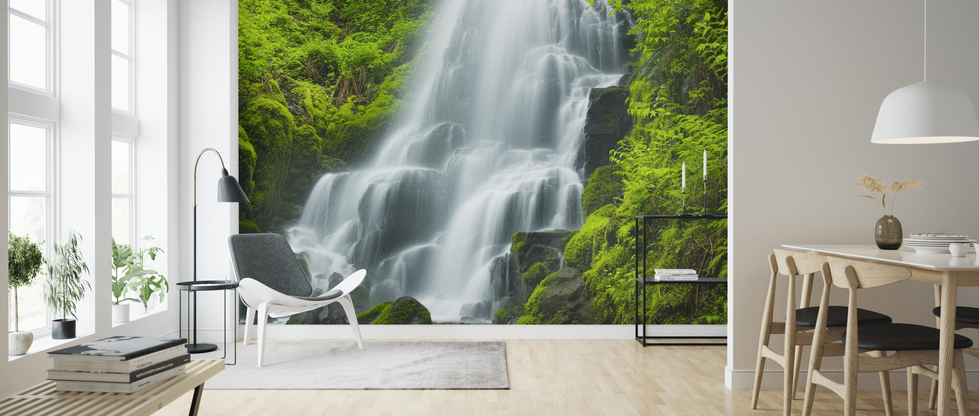 Fairy Falls - Wallpaper - Living Room