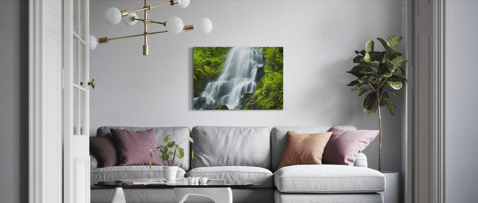 Fairy Falls - Canvas print - Living Room