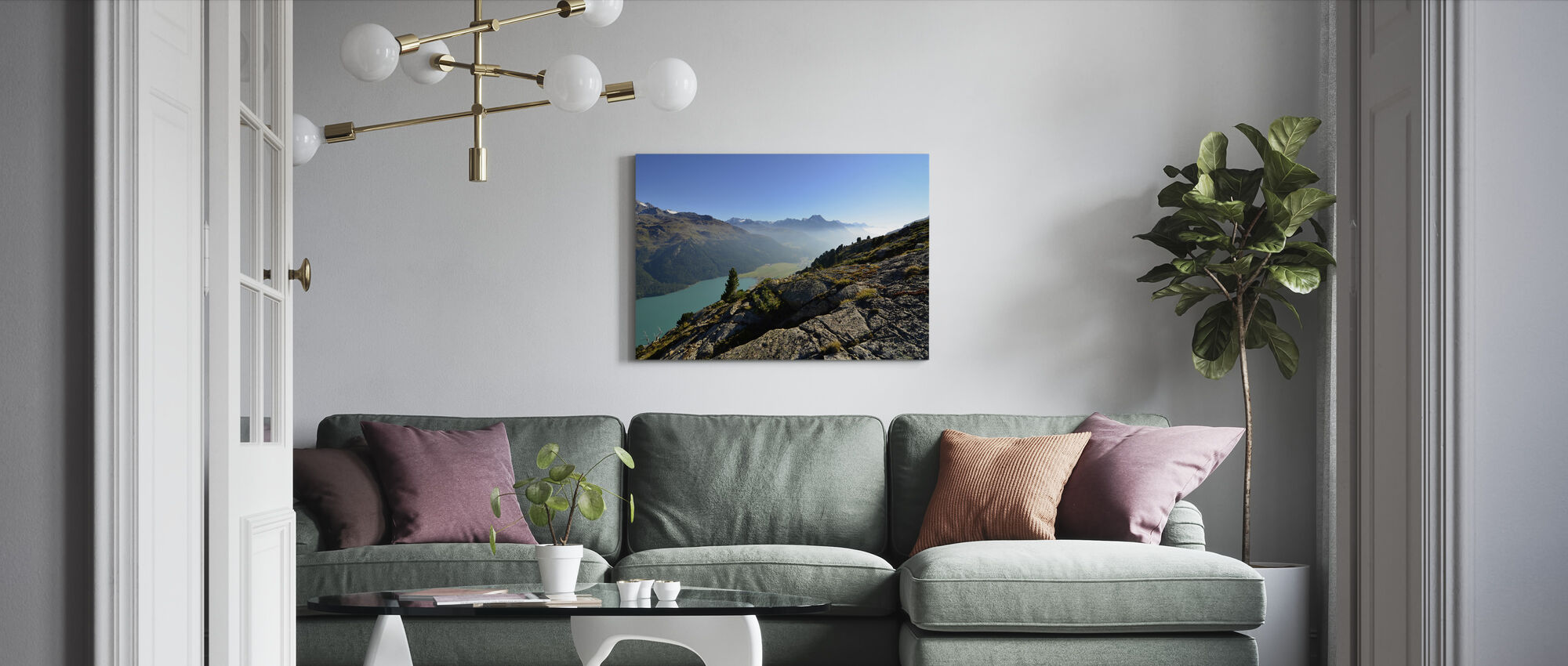 Afternoon Haze - Canvas print - Living Room