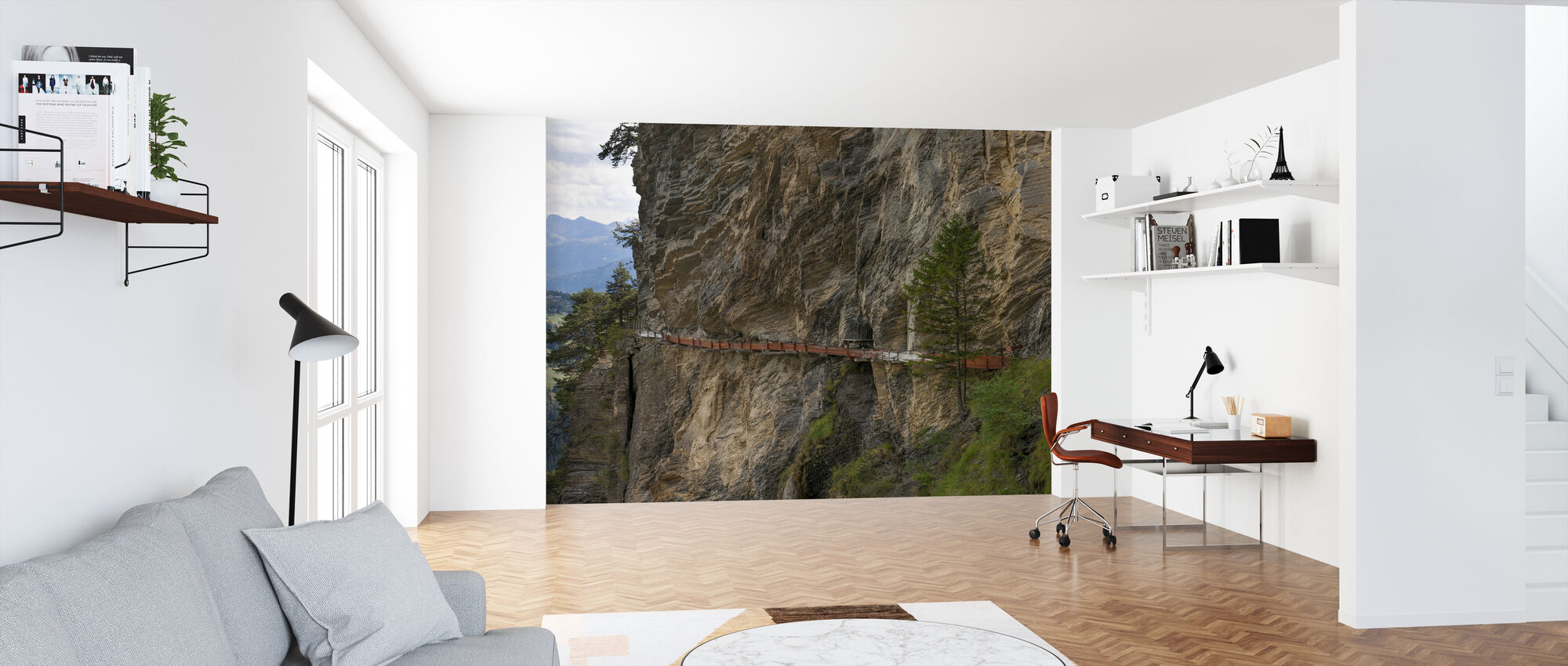 Irrigation Channel - Wallpaper - Office
