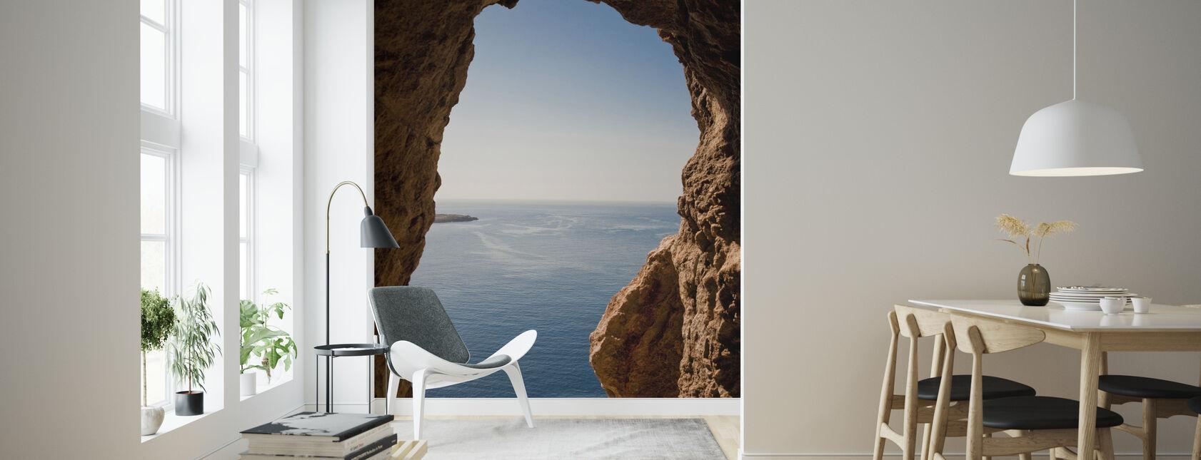 Menorcan Seascape - Tapeta - Pokój dzienny