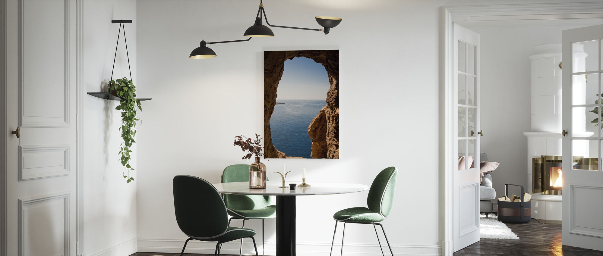 Menorcan Seascape - Canvas print - Kitchen