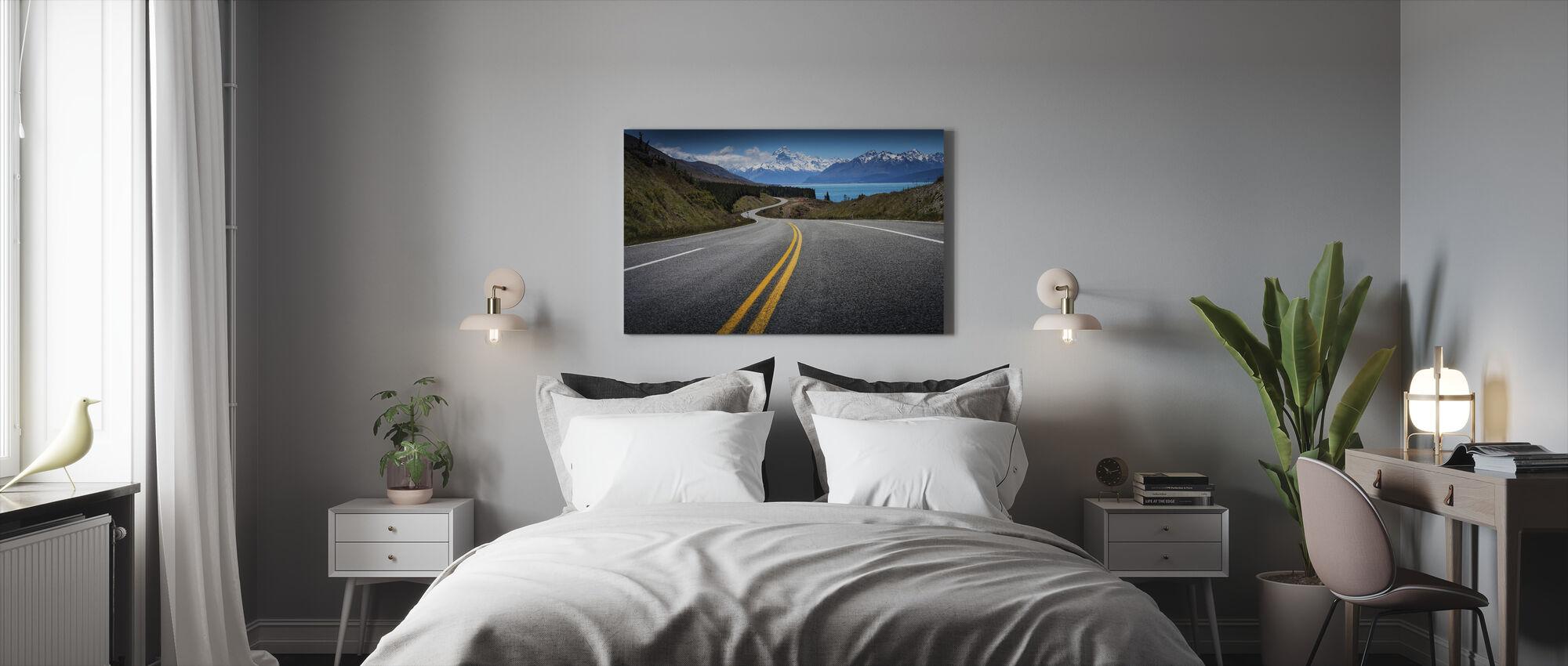 Tie Mount Cookille - Canvastaulu - Makuuhuone
