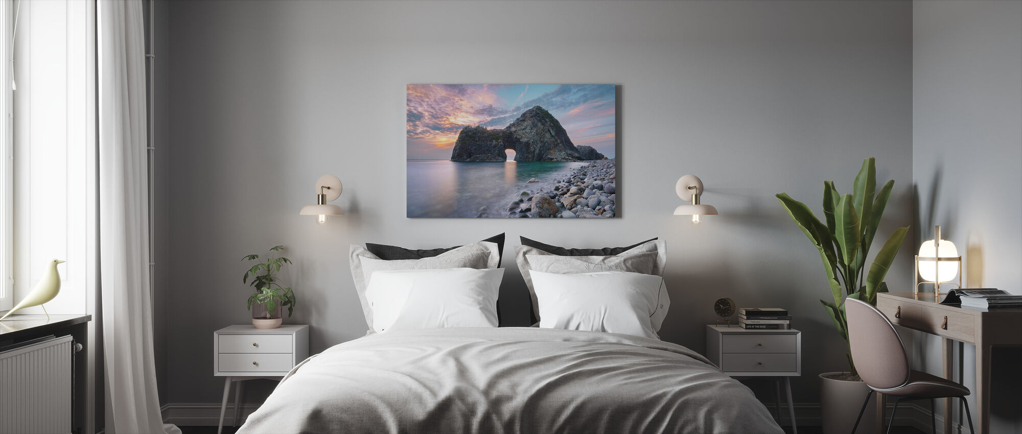 Rock Gate Senganmon - Canvas print - Bedroom