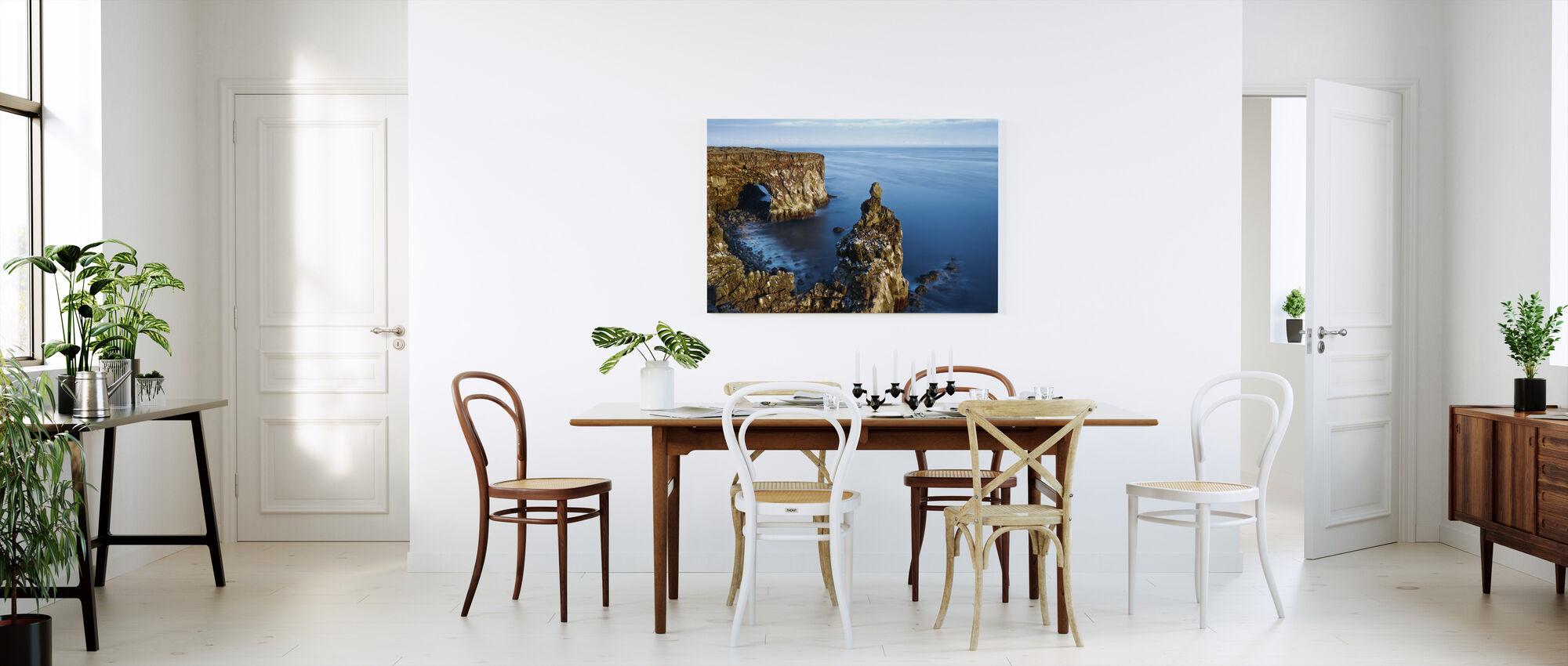 Svortuloft Cliffs - Iceland - Canvas print - Kitchen