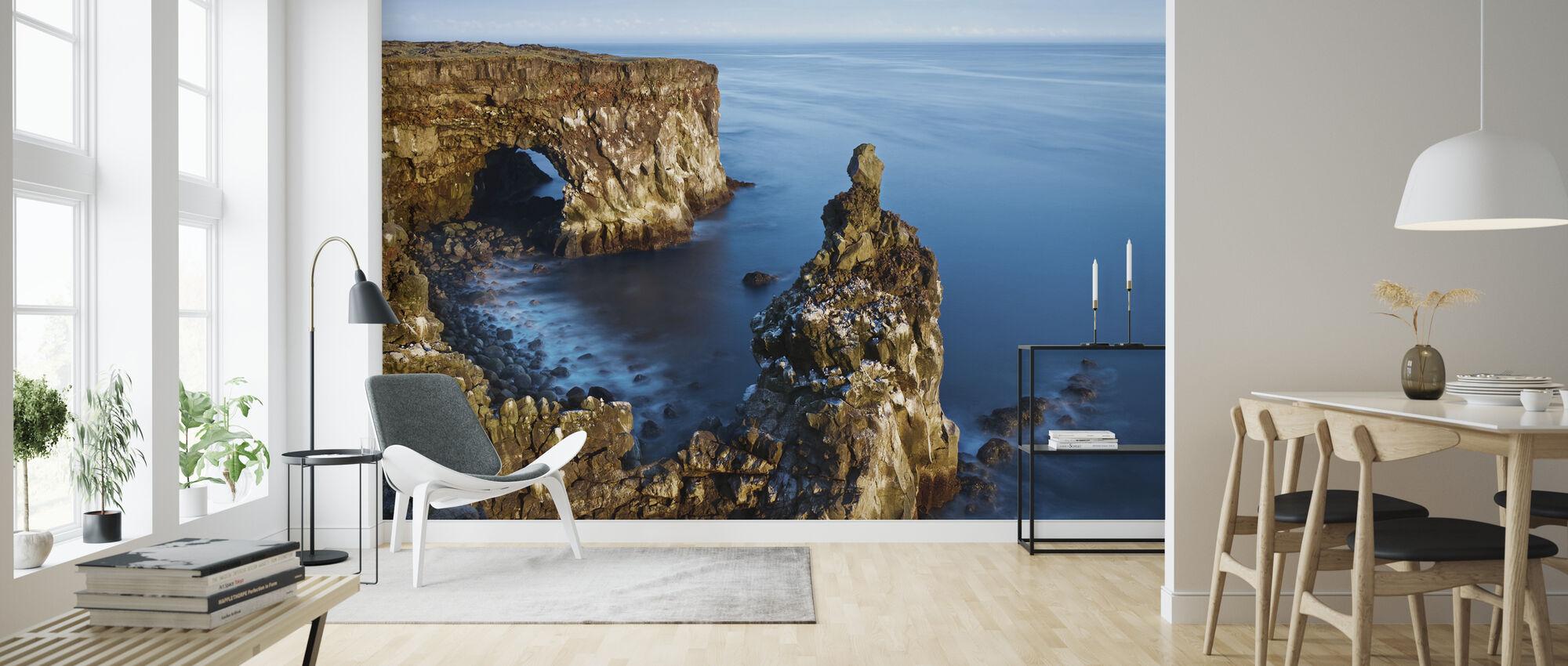 Svortuloft Cliffs - Islanti - Tapetti - Olohuone