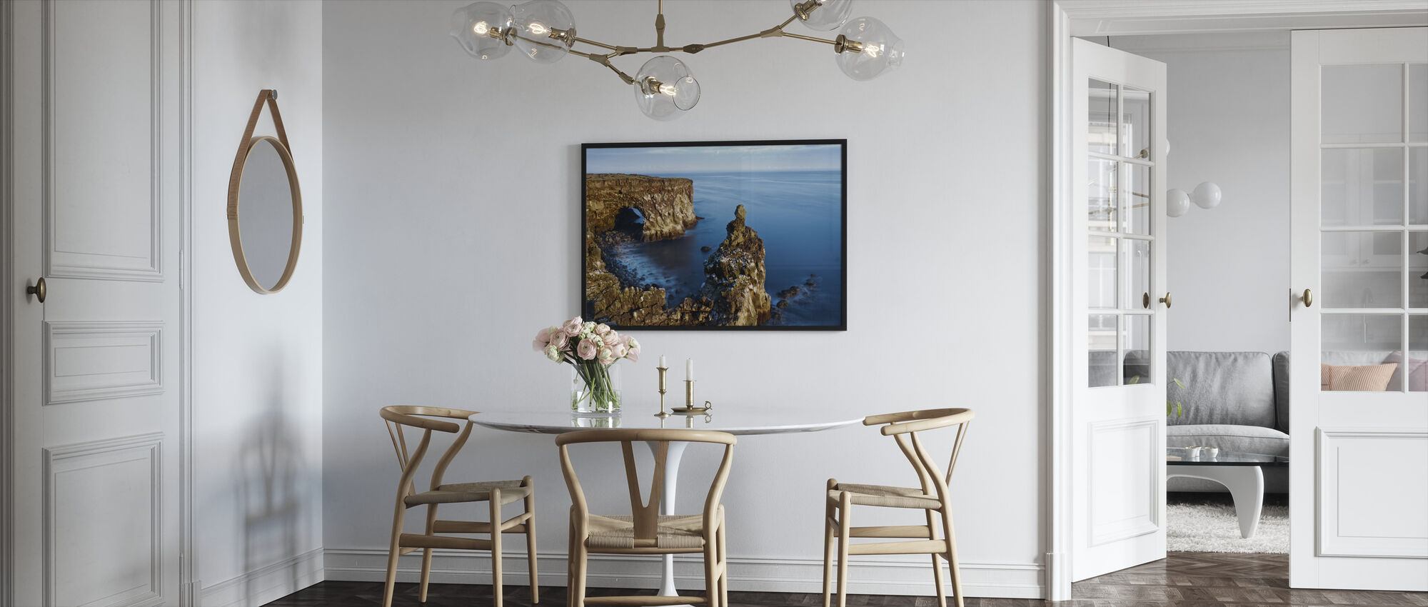 Svortuloft Cliffs - Islanti - Kehystetty kuva - Keittiö