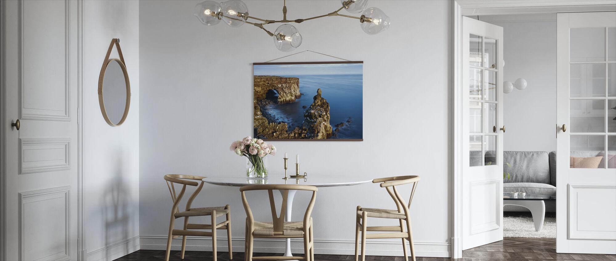 Svortuloft Cliffs - Iceland - Poster - Kitchen