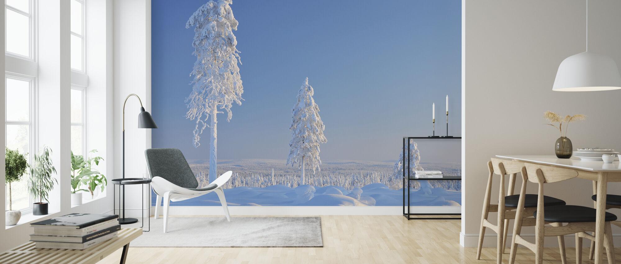 Vinter i Finland - Tapet - Vardagsrum