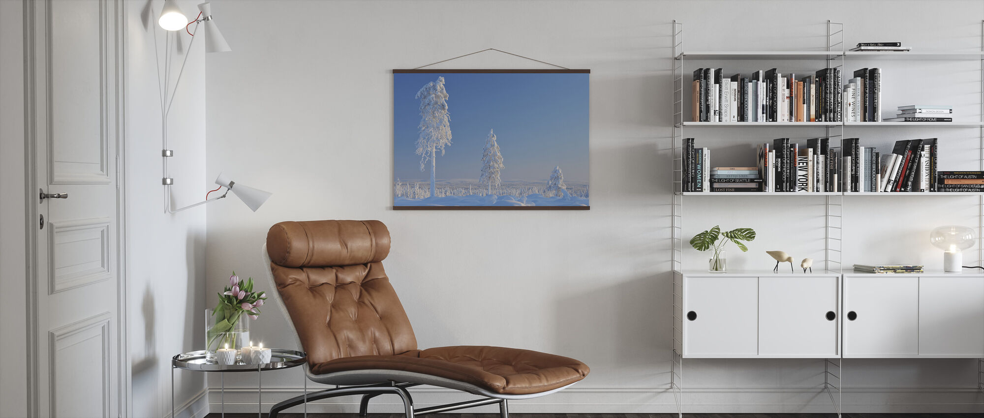 Winter in Finland - Poster - Living Room