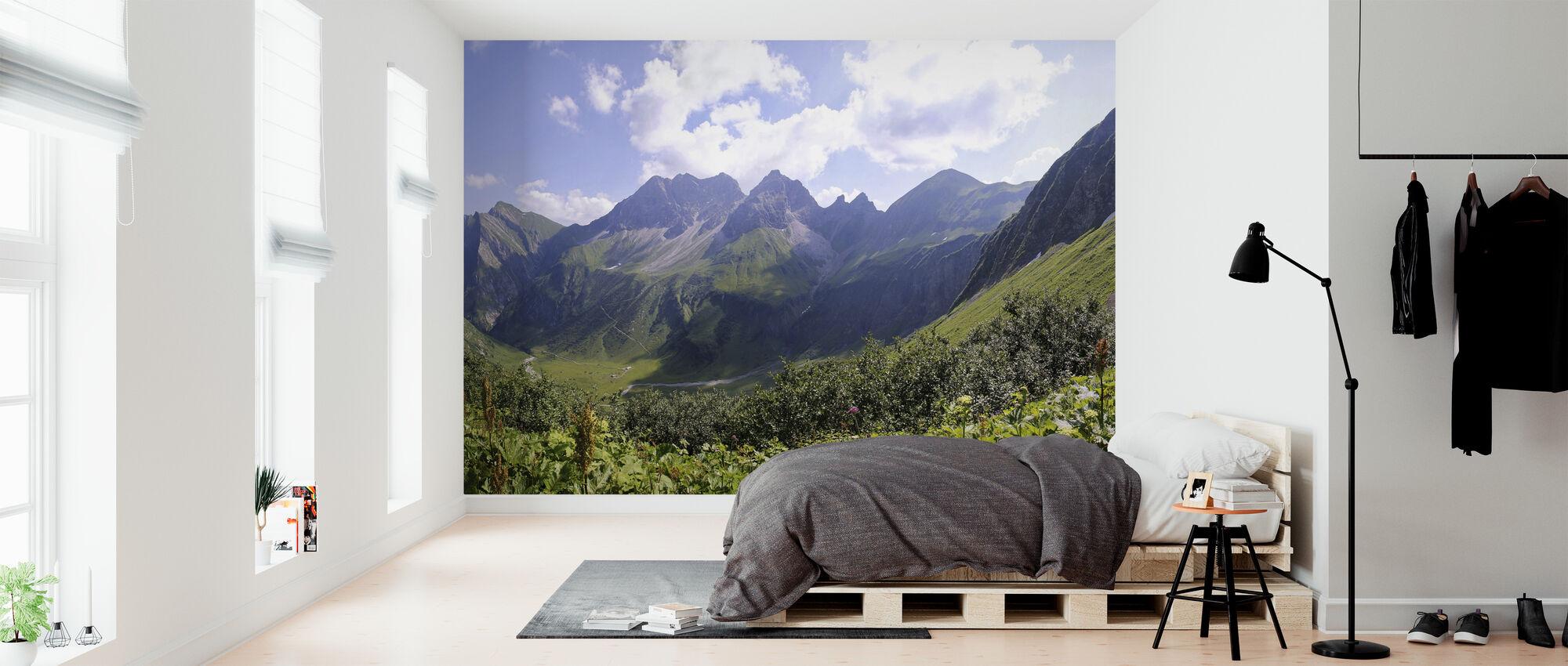Allgaeu Alps - Wallpaper - Bedroom