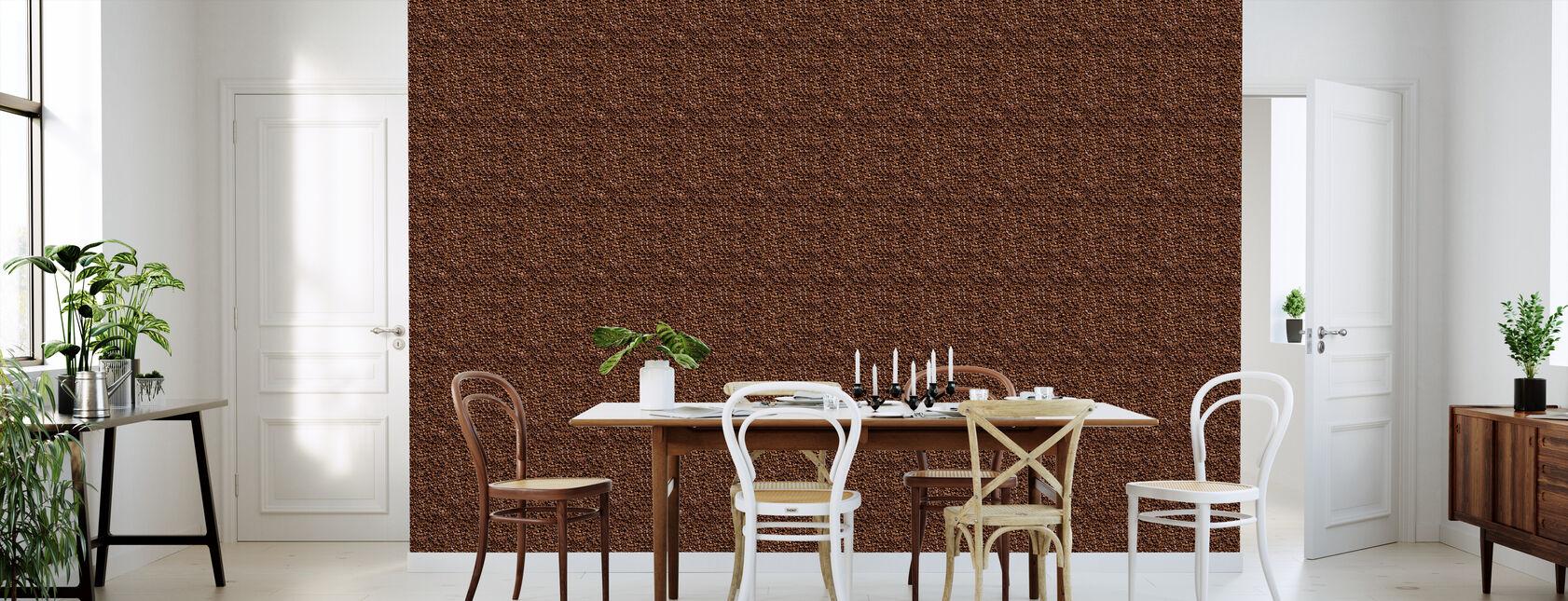 Coffee Beans - Natural Size - Wallpaper - Kitchen